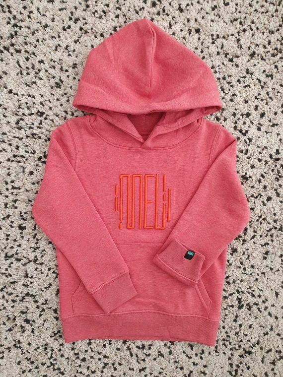 hoodie rosa criança HIGH 5-6 anos